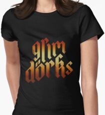 GrimDorks Podcast Womens Fitted T-Shirt