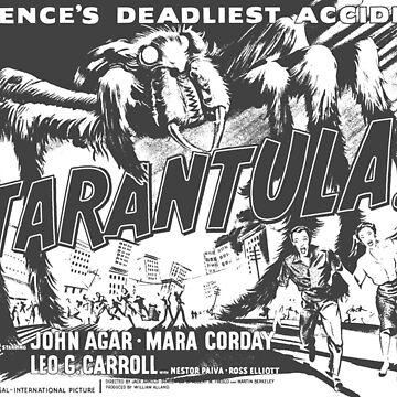Tarantula! Science's Deadliest Accident by inkDrop