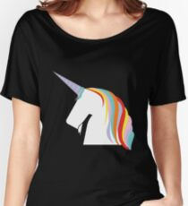 Unicorn colors cool Women's Relaxed Fit T-Shirt