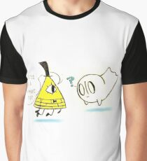 Bill meets Blooky Graphic T-Shirt