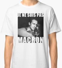 Je ne suis pas Macron - Boris Vian Classic T-Shirt