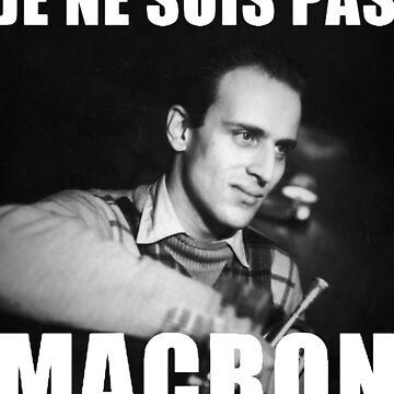 I'm not Macron - Boris Vian by Orata