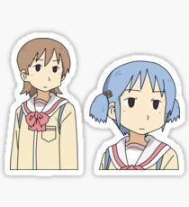 Yuuko and Mio Sticker
