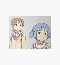 Yuuko and Mio Art Board Print