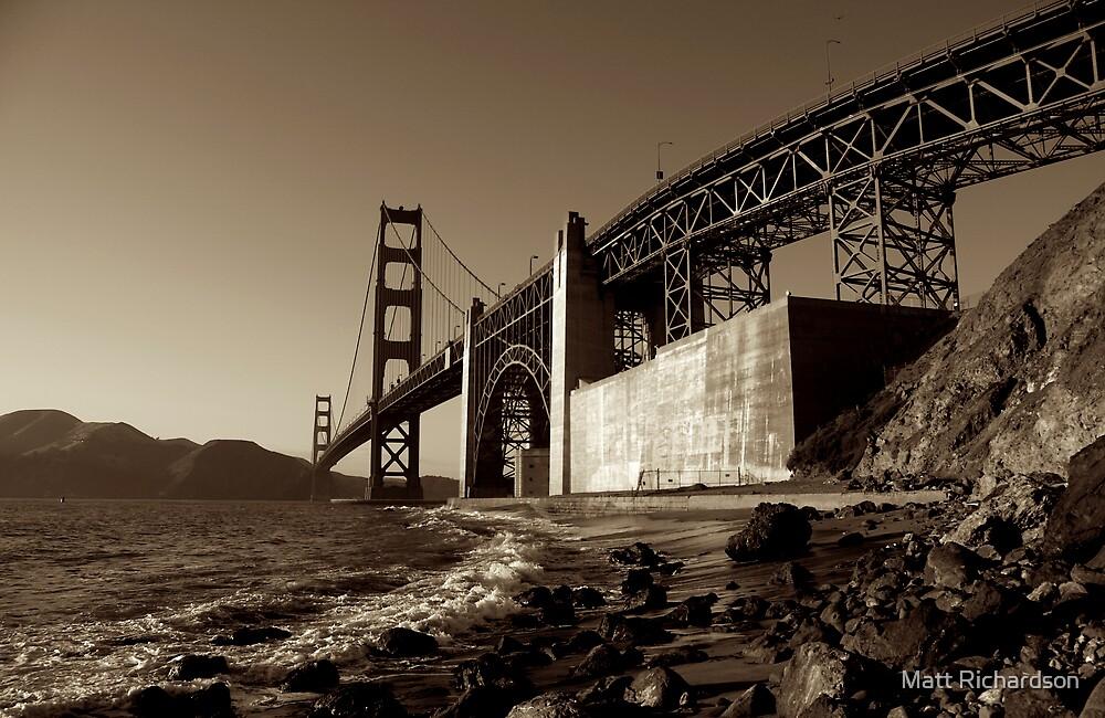Golden Bridge by Matt Richardson