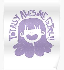 Totally Awesome Girl! Poster