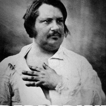 I'm not Depardieu - Honoré de Balzac by Orata