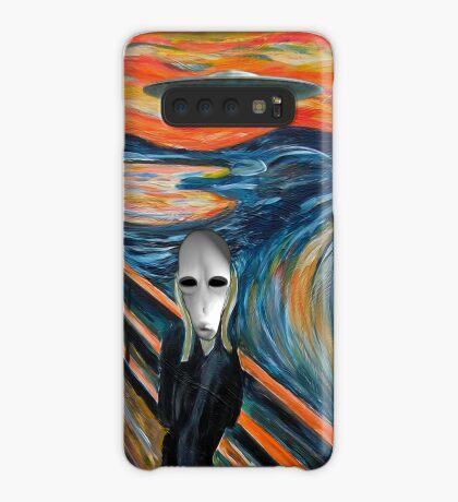 Alien Scream Case/Skin for Samsung Galaxy