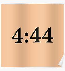 Jay-Z 4:44 Poster