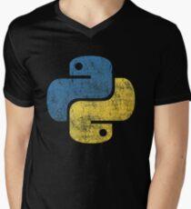 Vintage Python Men's V-Neck T-Shirt