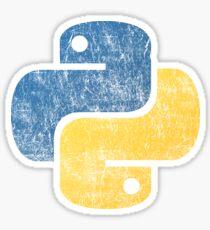 Vintage Python Sticker
