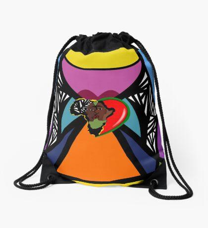 i Am Cari Bein Drawstring Bag