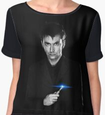 Doctor Who - The Tenth Doctor Chiffon Top