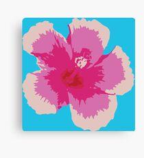 Bloom - Hibiscus Canvas Print