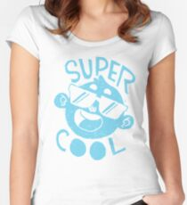 Super Cool! Women's Fitted Scoop T-Shirt
