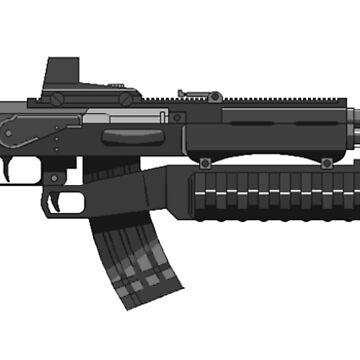 AK47 Rifle by markstones
