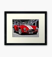 1966 Shelby Cobra 'Revolution' II Framed Print