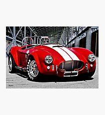 1966 Shelby Cobra 'Revolution' II Photographic Print