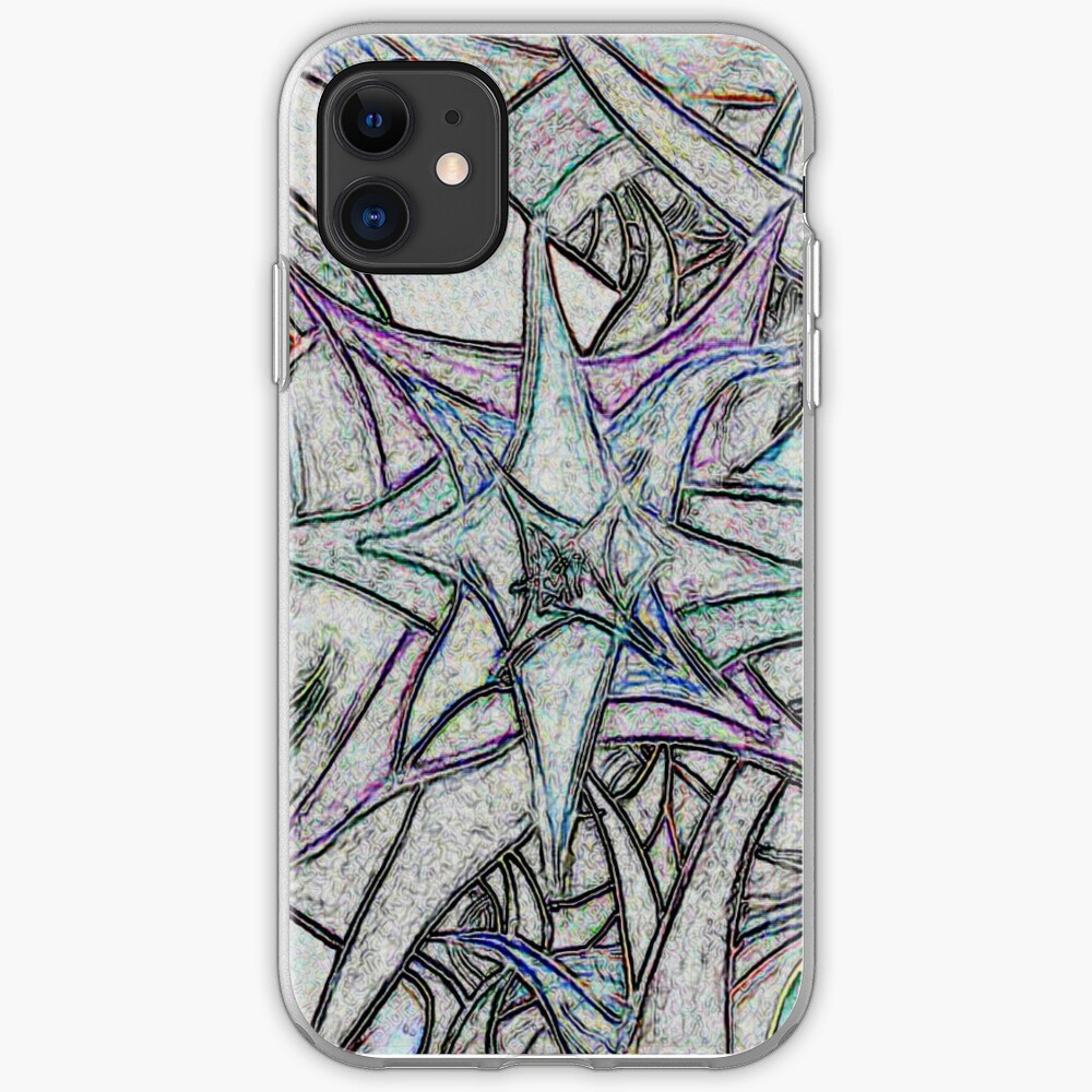 Unknown Internal Vision [Abstract #57] GREY iPhone Soft Case