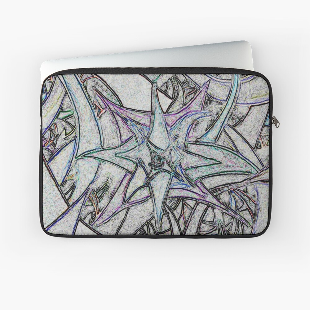 Unknown Internal Vision [Abstract #57] GREY Laptop Sleeve