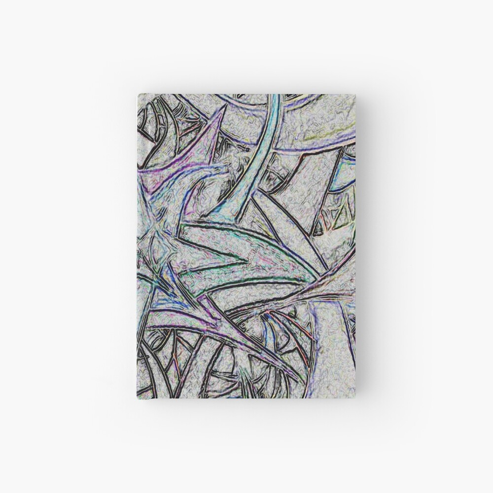 Unknown Internal Vision [Abstract #57] GREY Hardcover Journal