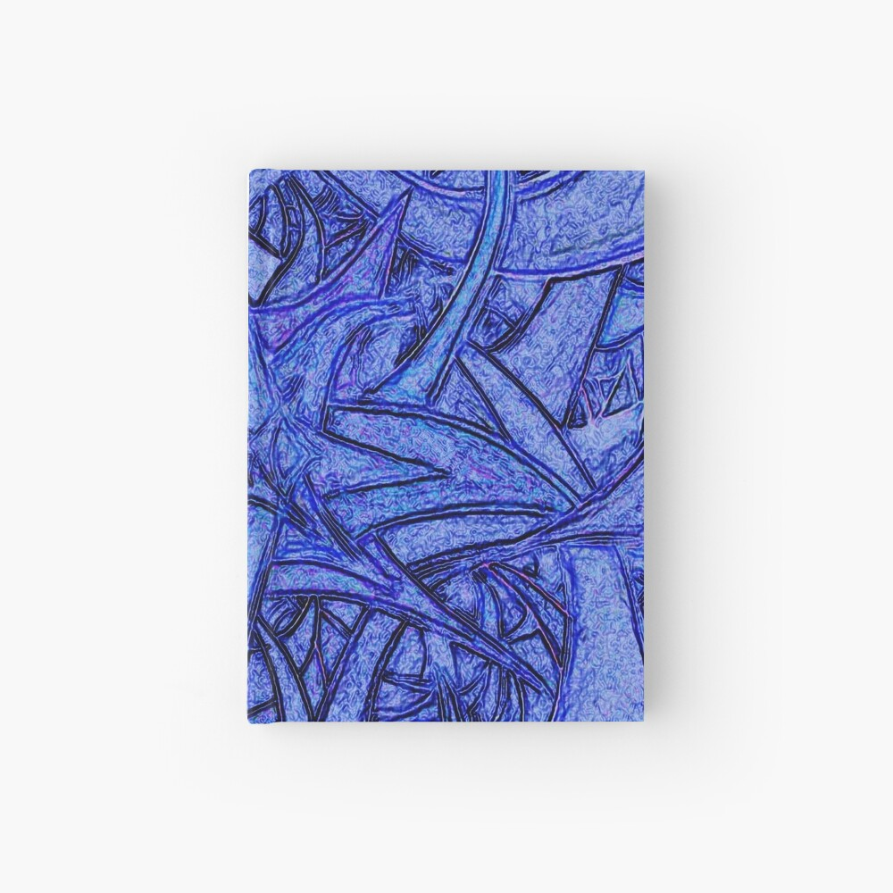 Unknown Internal Vision [Abstract #52] BLUE Hardcover Journal