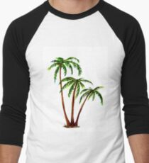 Triple 'Tree't - Palms Baseball ¾ Sleeve T-Shirt