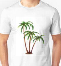 Triple 'Tree't - Palms Slim Fit T-Shirt