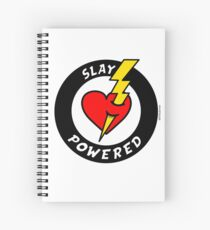 """State Of Slay """"Slay Powered"""" - To Benefit Battered Women Support Services Spiral Notebook"""