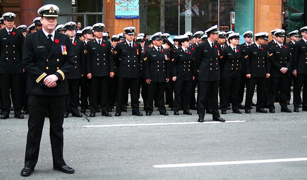 Rememberance Day, Vancouver 2007 by gemleslie