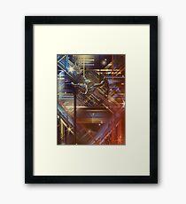 Explorer of The Tetracube Framed Print