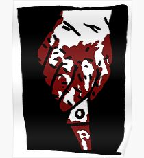 Bloody Knife Poster