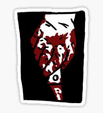 Bloody Knife Sticker