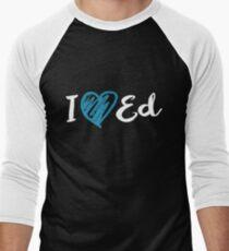 I Heart Ed Design (Black/Inverted) T-Shirt