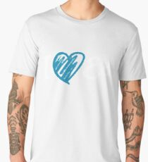 I Heart Ed Design (Black/Inverted) Men's Premium T-Shirt
