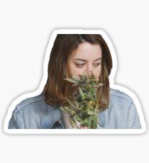 Aubrey Plaza! Sticker