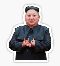 Kim Jong Izz-Ung Sticker