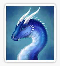 Blue Dragon- Saphira Sticker
