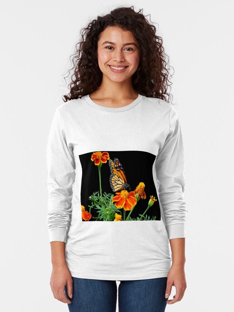 Alternate view of A Monarch's World Long Sleeve T-Shirt