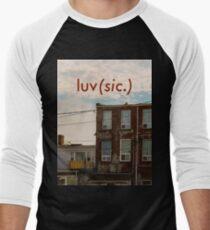 Luv (sic.) Men's Baseball ¾ T-Shirt