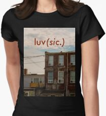 Luv (sic.) Women's Fitted T-Shirt