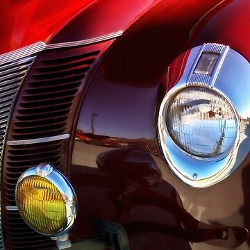 Garnet Drive - Classic Car by SalonOfArt
