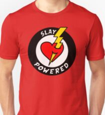 "State Of Slay ""Slay Powered"" - To Benefit Battered Women Support Services (Red) T-Shirt"