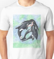 Mermaid Fairy and Orca Dance Unisex T-Shirt