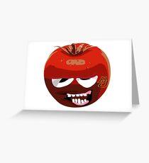 Waco Tomato Greeting Card