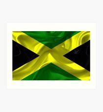 Jamaican Flag Art Print