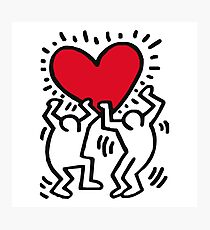 KEITH HARINGS Photographic Print