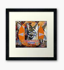 Coyote Trickster Framed Print
