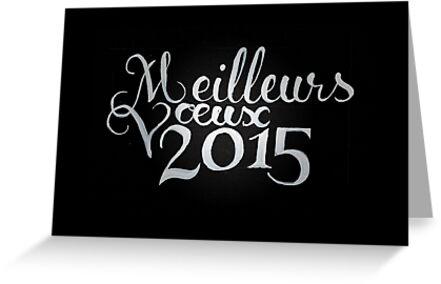 French Best Wishes 2015 by Ben Fligans