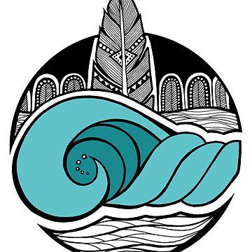 Ocean Wanderlust by K80designs by azurepro
